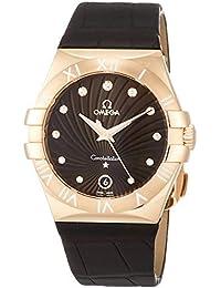 [オメガ]OMEGA 腕時計 Constellation ブラウン文字盤 ダイヤモンド 123.53.35.60.63.001 レディース 【並行輸入品】