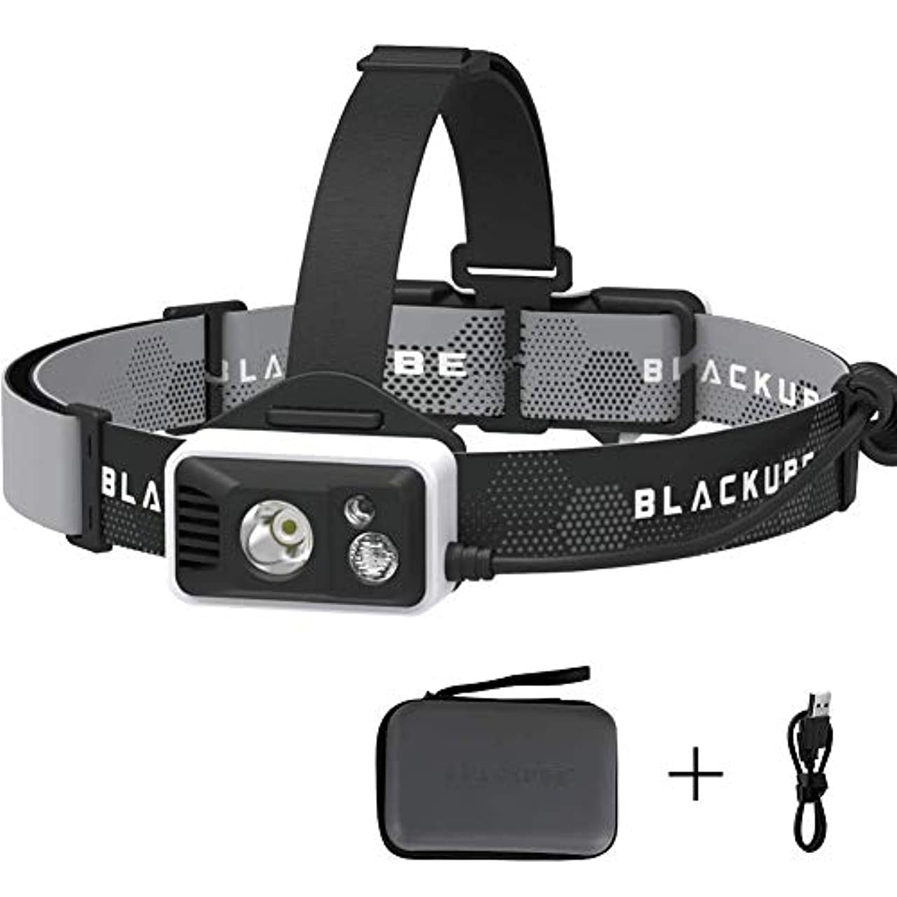 特異性一間隔ヘッドランプ 充電式ヘッドライト 5つモード ledライト 釣り/ランニング/防災用