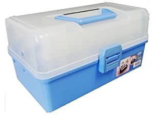 TOYO 樹脂製 3段式ツールボックス HP-320 (青)