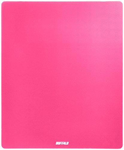 バッファロー マウスパッド メタル調 ピンク BSPD10PK 1個