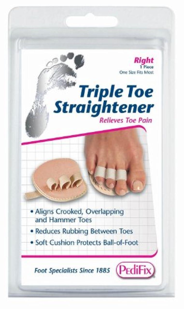 従者振りかける肘掛け椅子足指補整パッド 第2?3?4指、左足用(P58-L)