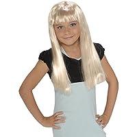 Child'S Rock Star Long Blonde Wig [並行輸入品]