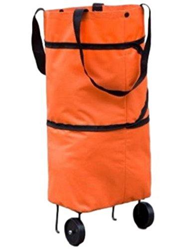 2way 変形 エコバッグ 折りたたみ 型 キャスター 付 キャリー バック
