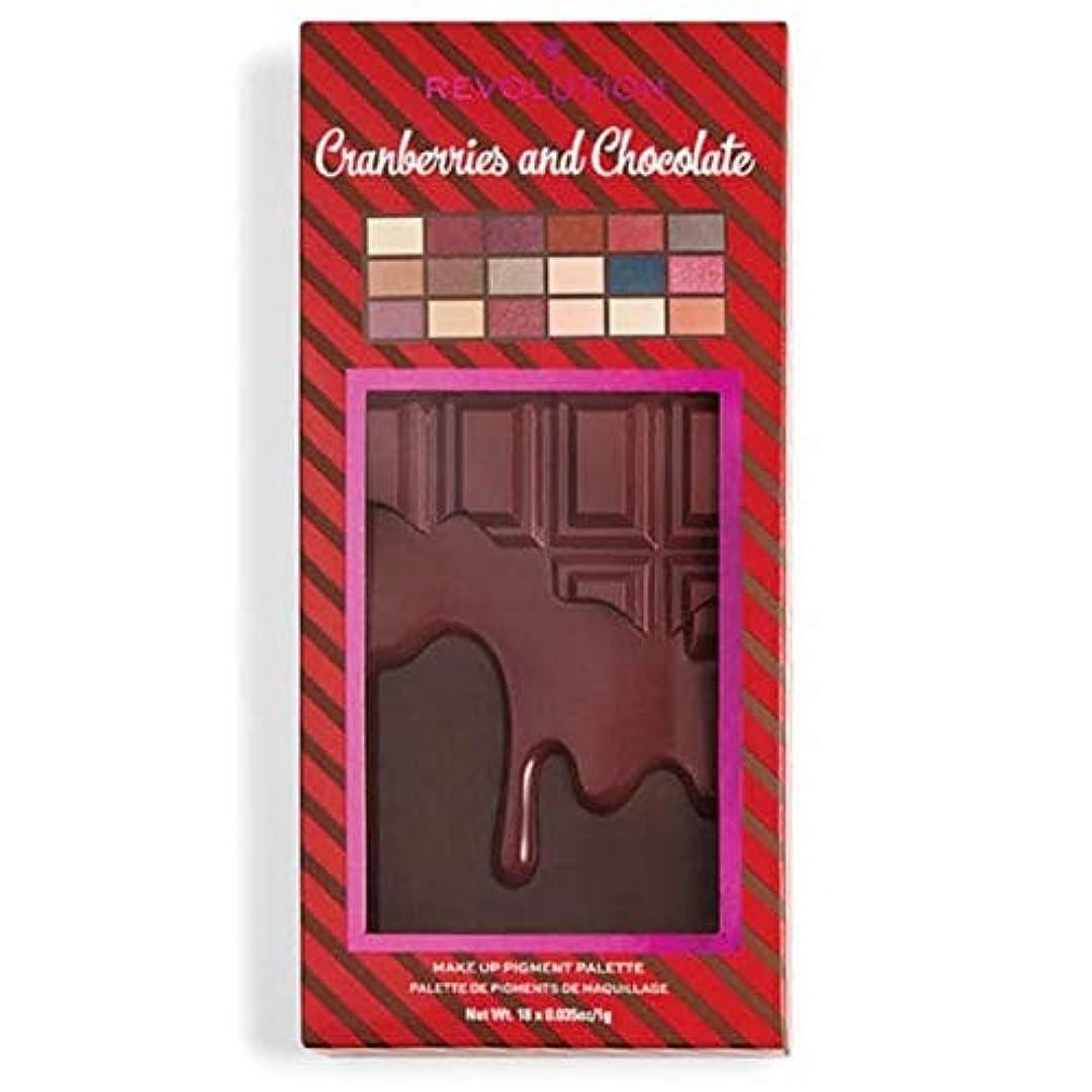 最初は楽しむ進む[I Heart Revolution ] 私の心の革命クランベリー&チョコレートパレット - I Heart Revolution Cranberries & Chocolate Palette [並行輸入品]