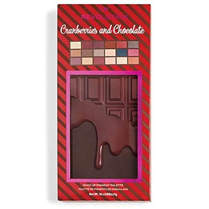 服を着る変数しつけ[I Heart Revolution ] 私の心の革命クランベリー&チョコレートパレット - I Heart Revolution Cranberries & Chocolate Palette [並行輸入品]