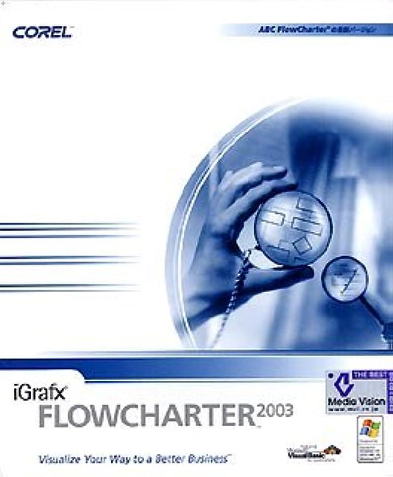 タンクかろうじて興奮iGrafx FlowCharter 2003 日本語版