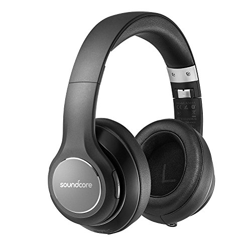 Soundcore Vortex(Bluetooth対応オーバーイヤー型ヘッドフォン)【 Hi-Fi ステレオサウンド/20時間連続再生/内蔵マイク/形状記憶イヤーカップ 】