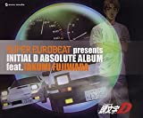 SUPER EUROBEAT presents INITIAL D ABSOLUTE ALBUM feat.TAKUMI FUJIWARA 画像