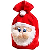 BESTOYARD Christmas Santa Sack Embroidered Xmas Sack  Presents Stocking Filler