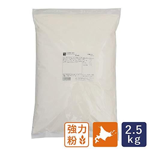 強力粉 ゆめちからブレンド 北海道産パン用小麦粉 2.5kg 国産小麦粉