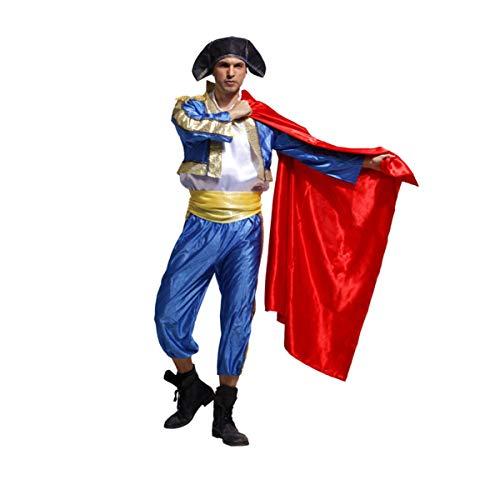 [ZOCOLA(ゾコラ)] ハロウィン コスプレ メンズ 仮装 男 闘牛士 コスチューム Cosplay イベント パーティー