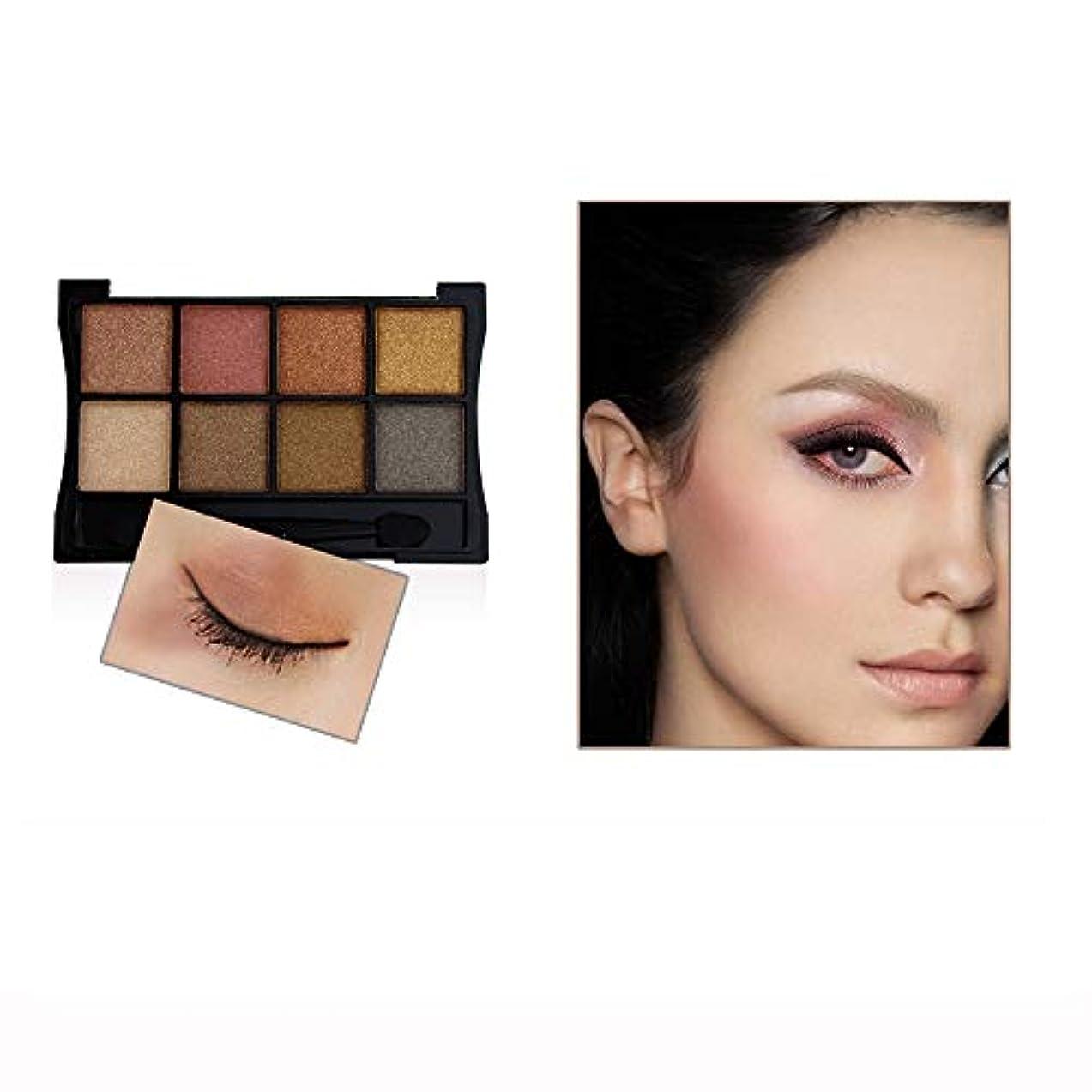 広々とした精通した契約したAkane アイシャドウパレット BOUB ファッション 魅力的 スモーキー 人気 綺麗 マット チャーム つや消し 長持ち おしゃれ 持ち便利 日常 仕事 Eye Shadow (8色)