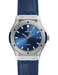 [ウブロ] HUBLOT 腕時計 クラシック フュージョン ブルー チタニウム 42ミリ 542.NX.7170.LR メンズ 新品 [並行輸入品]
