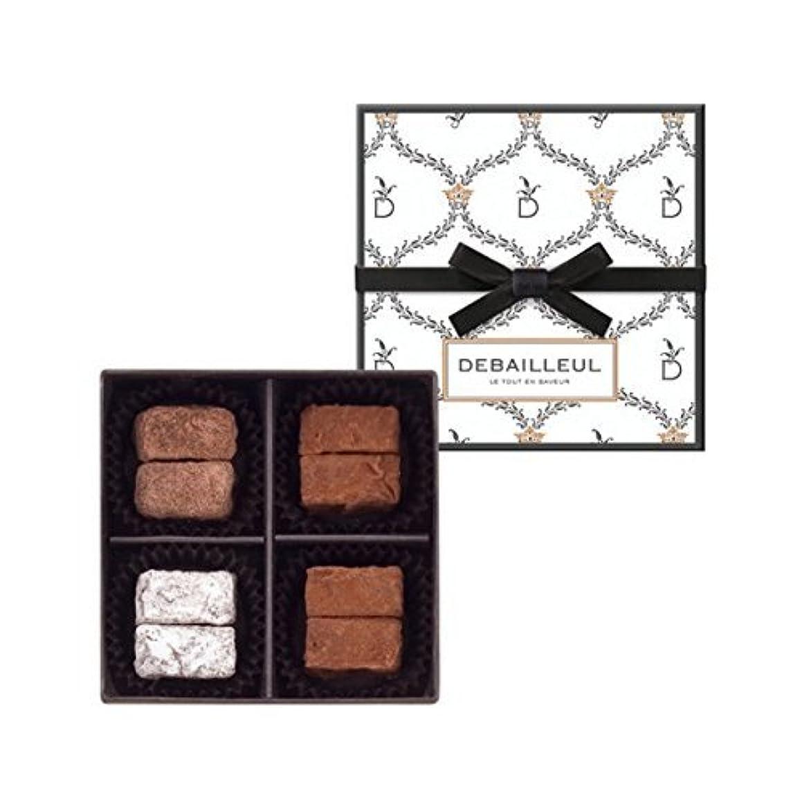 薬を飲む昼寝労苦2018ドゥバイヨル DEBAILLEUL  セレクション ド トリュフ 8粒入 バレンタイン ホワイトデー チョコレート