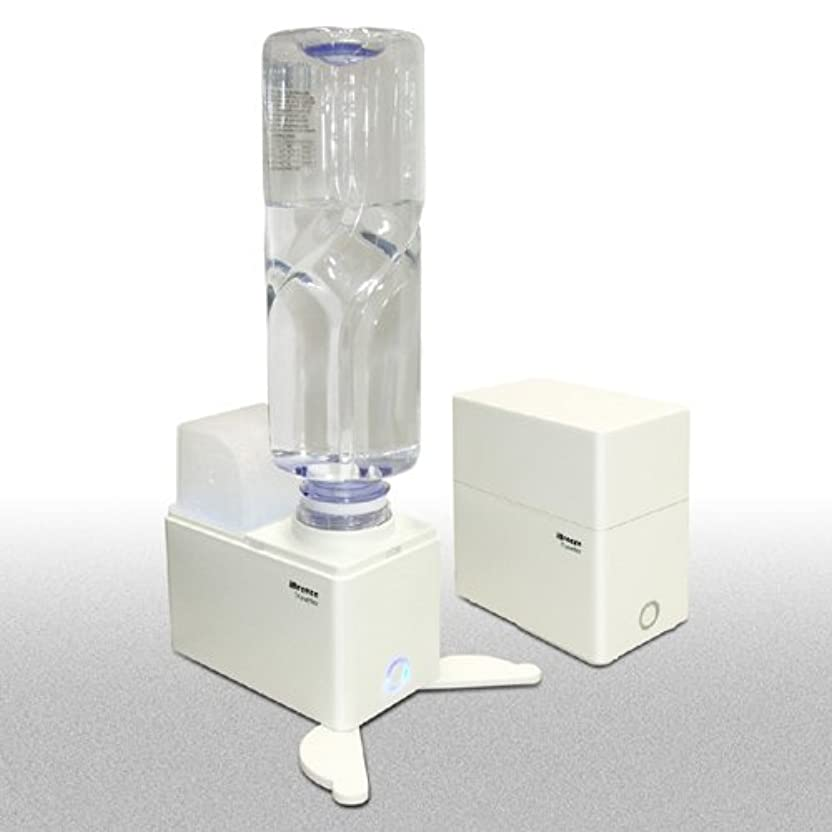 楽観的満足できる乳白エレス アイブリーズ?トラベラー 超音波式ペットボトル加湿器 ホワイト ELAICE-415130