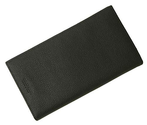 [アルマーニ] 長財布 メンズ 本革 ジョルジオアルマーニ 二つ折 (ブラック) A-2641 [並行輸入品]
