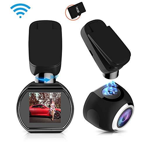 HQBKiNG Wifi ドライブレコーダー 原装16Gカー...