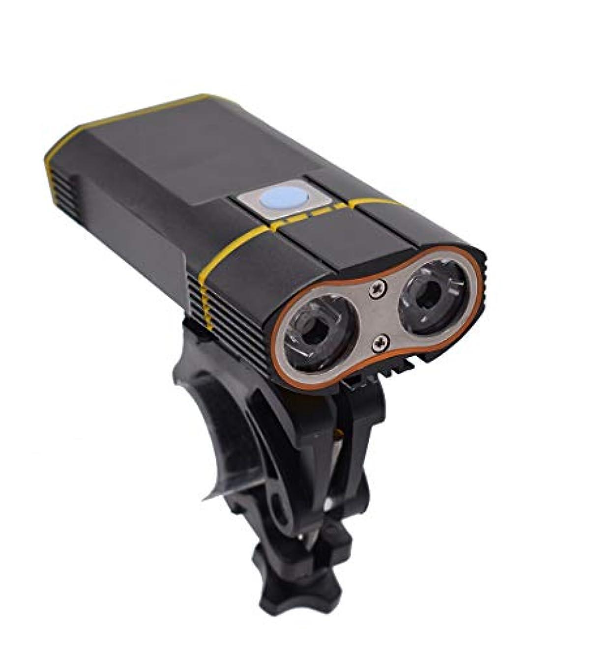 削除する飼い慣らす牽引自転車用照明器具、USB充電LEDライト、ナイトライディング、アウトドアキャンプ