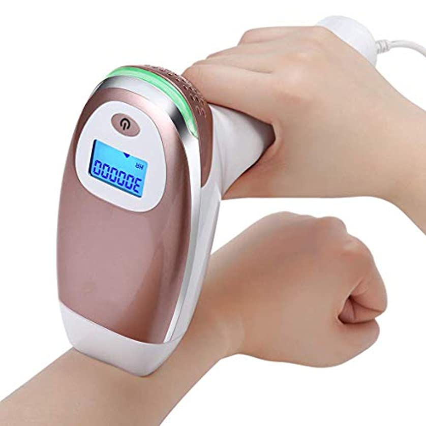 演じる切り下げスプーン痛みのないレーザー脱毛装置 - 体、顔、脇の下、ビキニラインのためのLCDスクリーン付きIPL脱毛システム