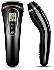 3イン1レーザー脱毛器 家庭用光脱毛器 光エステ 永久脱毛 サロン品質 男女全身兼用 35万発照射 5段階 IPL脱毛装置(HR(脱毛)+SR(美容)+AC(ニキビケア) (BLACK)