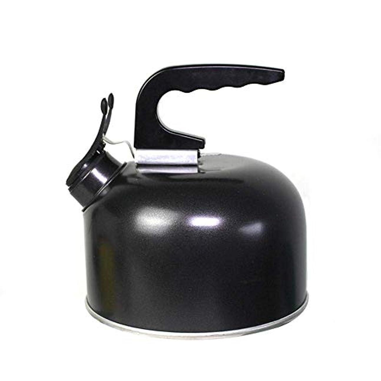 荒野ミキサー煙メタルキャンプケトルホイッスルアウトドアキャンプライディング便利なアウトドアコーヒーポット1.7L