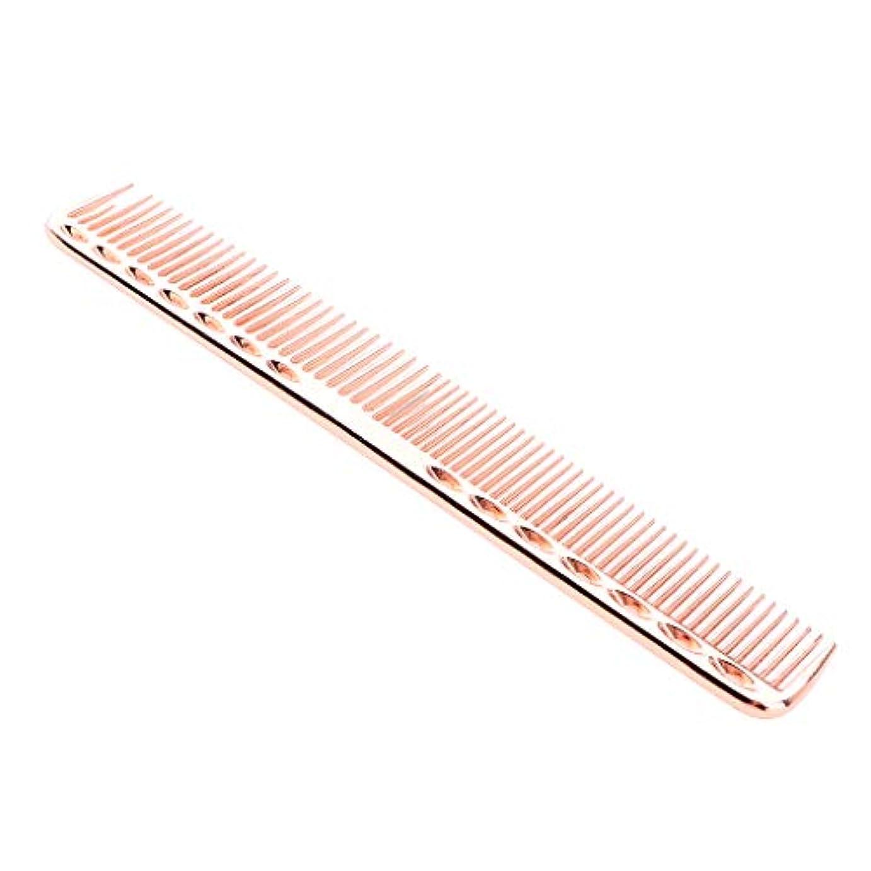 無謀コンチネンタルがっかりしたCUTICATE 理髪櫛 帯電防止櫛 ヘアコーム ヘアブラシ くし 頭皮マッサージ ヘアサロン アクセサリー 全5カラー - ローズピンク