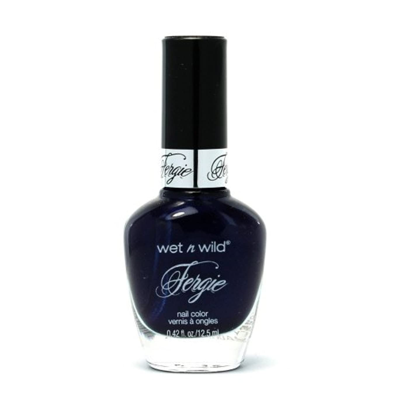 場所無能誇大妄想(3 Pack) WET N WILD Fergie Heavy Metal Nail Polish - Mazel Tov Madness (DC) (並行輸入品)