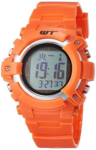 『[アリアス]ALIAS 腕時計 電波ソーラー デジタル ウェーブトランス 5気圧防水 ウレタンベルト オレンジ WT13003RCSOL4 メンズ』のトップ画像