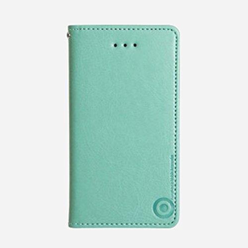 Galaxy S4 / ギャラクシー S4 (SC-04E) 対応 ケース Suction Plate Hidden Pocket Flip サクション プレート カード挿し フリップ ケース スマホ カバー Mint / ミント