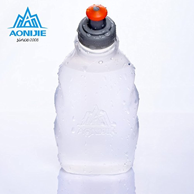 速度本部模倣Fashionwu マラソン ボトル 給水 水筒 軽量 ウォーターボトル スポーツボトル ハイドレーションパック用 ジョギング サイクリング アウトドア携帯式ボトル 耐冷耐熱 無毒無臭