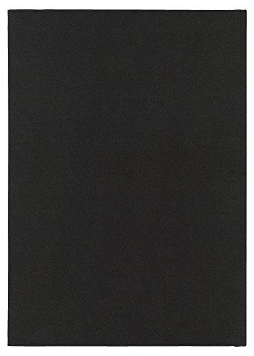 博文館 手帳 2018年 1月始まり マンスリー デスクブロック 18ヵ月 B5 黒 No.137