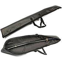 レザー製 刀袋 剣袋 竹刀 模造刀 日本刀 木刀 防具袋 剣道 収納 保護 持ち運び