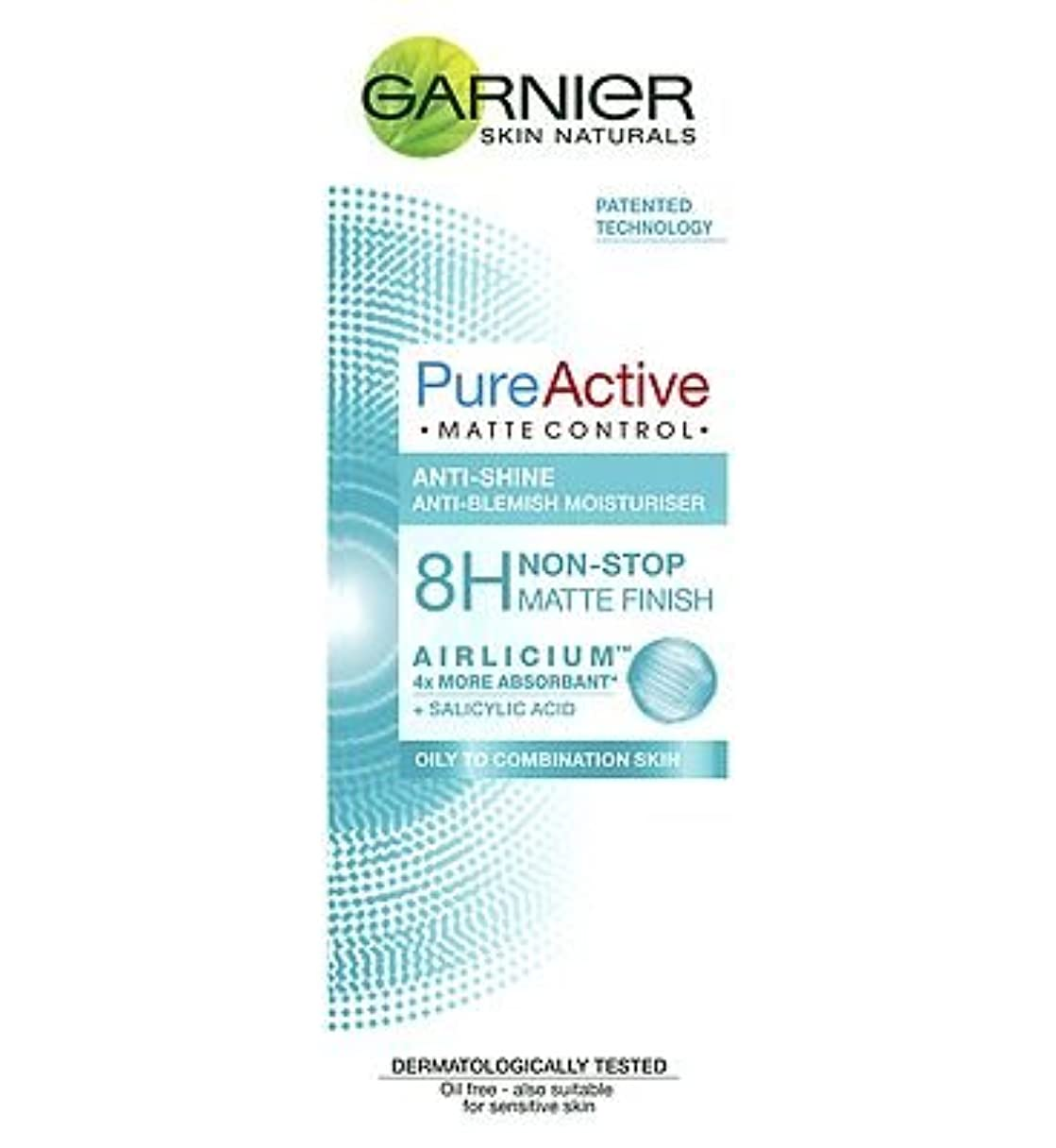 準備したうめき鉛筆Garnier Pure Active Matte Control 50ml