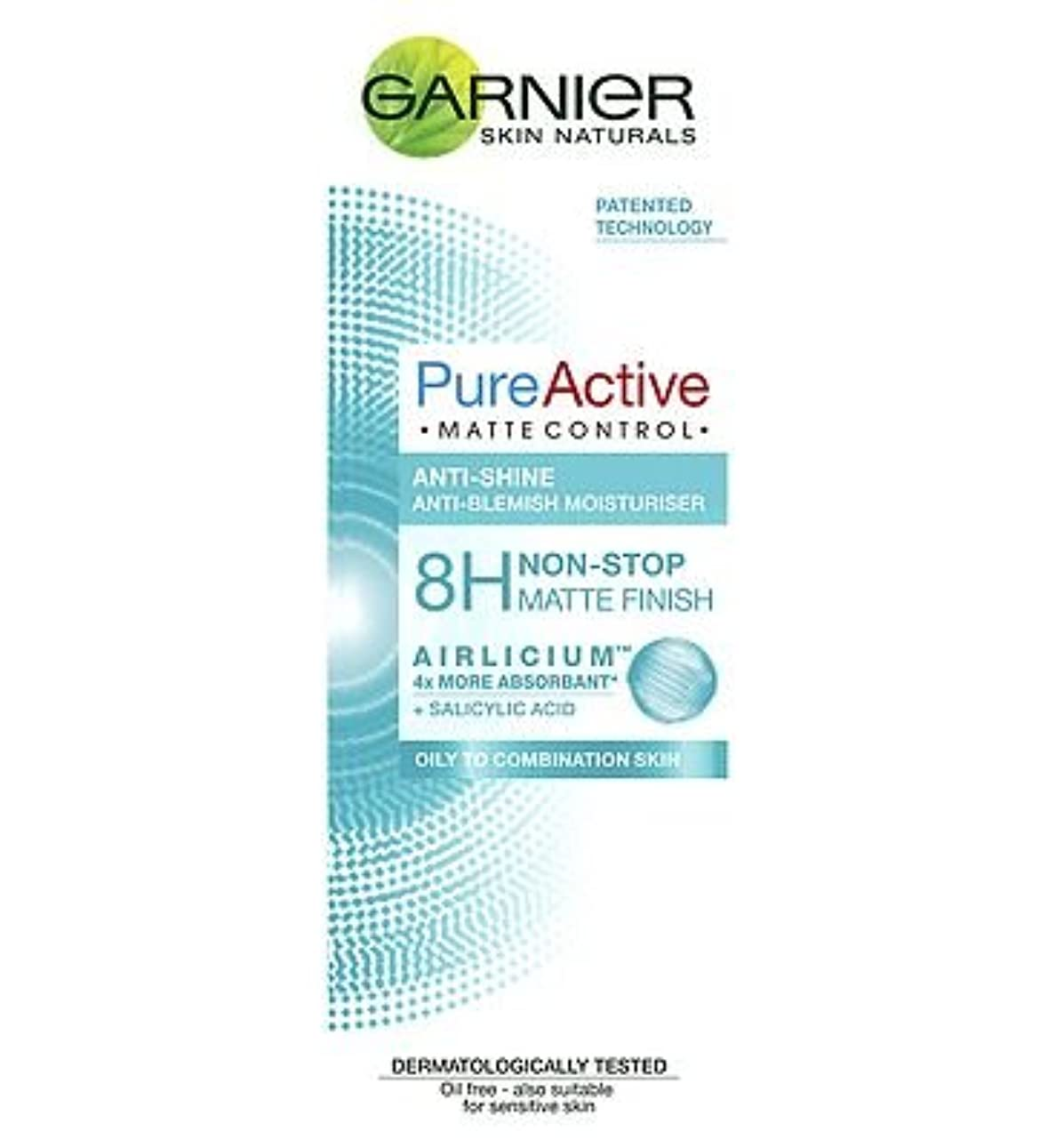 光沢嫌なブートGarnier Pure Active Matte Control 50ml