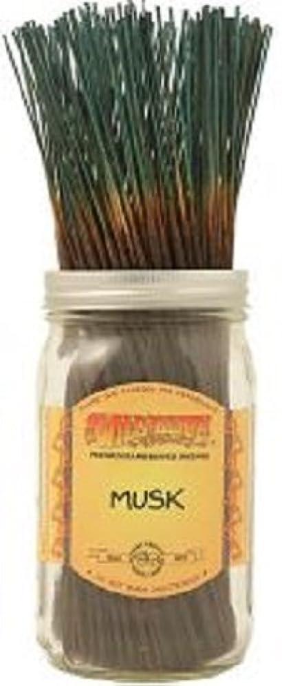 刈る表面的な本当のことを言うとWild Berry Incense Inc。ムスクIncense - 15 Sticks
