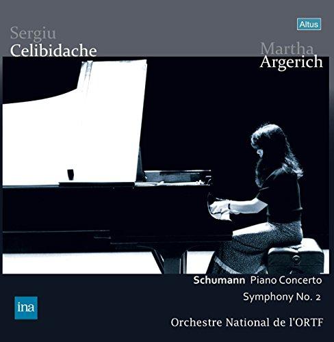 シューマン : ピアノ協奏曲 イ短調 Op.54 | 交響曲 第2番 ハ長調 Op.61 (Schumann : Piano Concerto | Symphony No.2 / Martha Argerich | Sergiu Celibidache | Orchestre National de l'ORTF) [2LP] [日本語帯・解説付] [Limited Edition] [Analog]