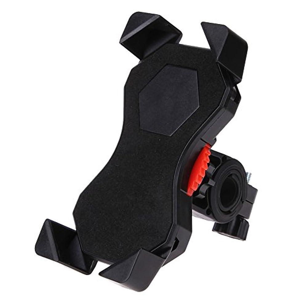 動員する安全崖JOSHENYP 自転車 携帯ホルダー バイク スマホ ホルダー 強力な保護Andriod/iPhone/GPS多機種対応