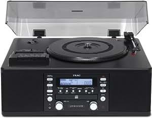 TEAC CDレコーダー ターンテーブル/カセットプレーヤー付 LP-R550USB-B