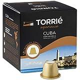 TORRIE - CUBA - Nespresso Compatible Capsules - 10 Capsules x 4 (Total: 40 Capsules)