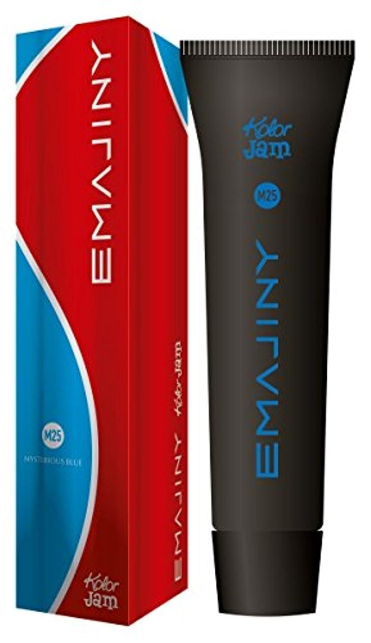 ミシン目開発統計EMAJINY エマジニー カラージャム 75g Blue ブルー M25