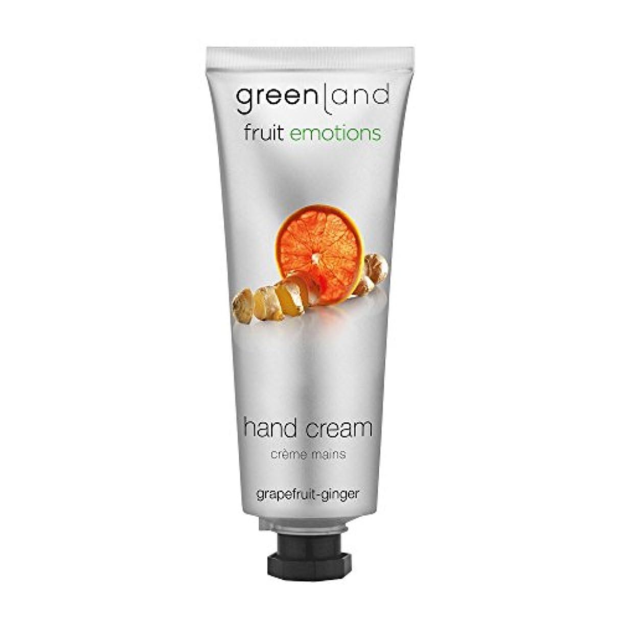 準拠検索エンジン最適化不適当greenland [FruitEmotions] ハンドクリーム 75ml グレープフルーツ&ジンジャー FE0535