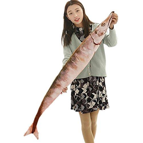 tokutoyリアルシリーズ ぬいぐるみ 抱き枕 個性的 ふわふわ 細かい細工 さんま 130cm