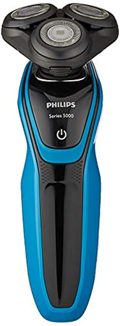 狂信者タブレット原稿フィリップス 5000シリーズ メンズ 電気シェーバー 27枚刃 回転式 お風呂剃り & 丸洗い可 S5050/05