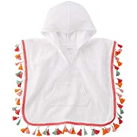 Mud Pie White Tassel Cover-Up (4-5 Toddler)