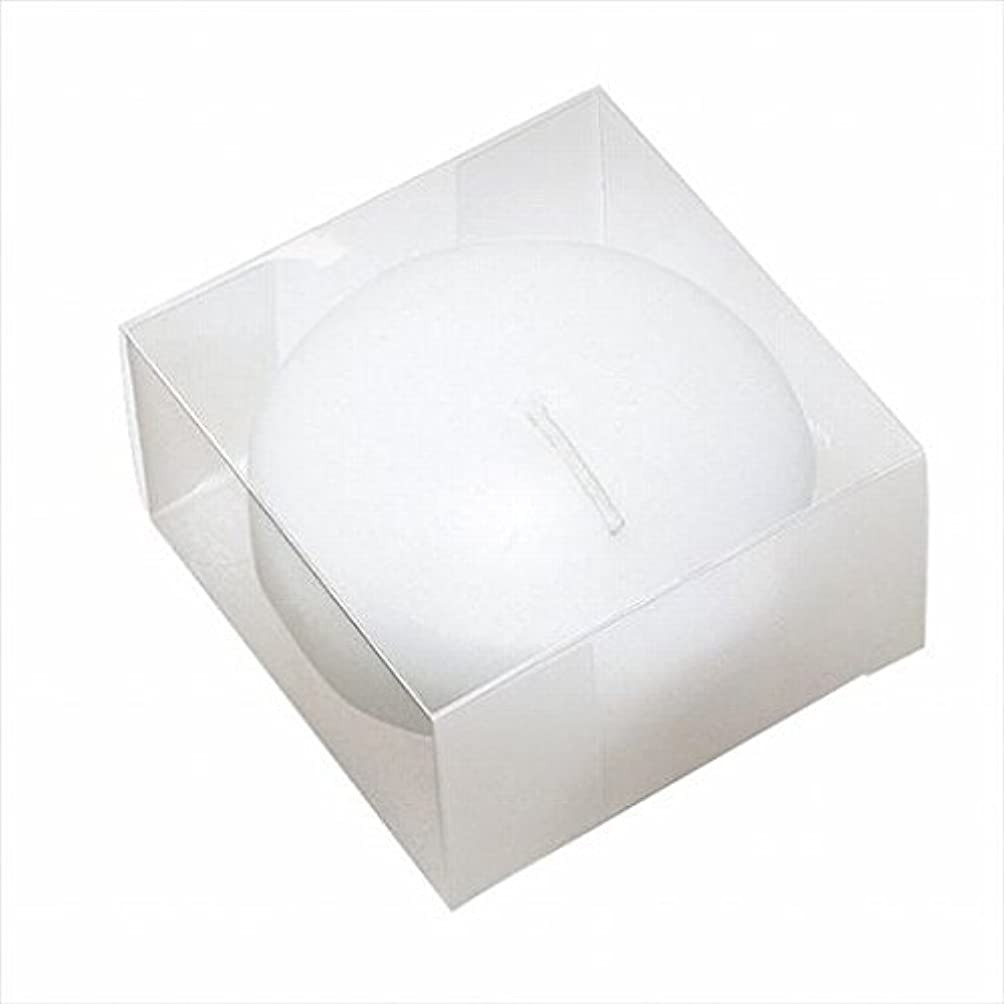 診断する不足ピクニックカメヤマキャンドル(kameyama candle) プール80(箱入り) 「 ホワイト 」