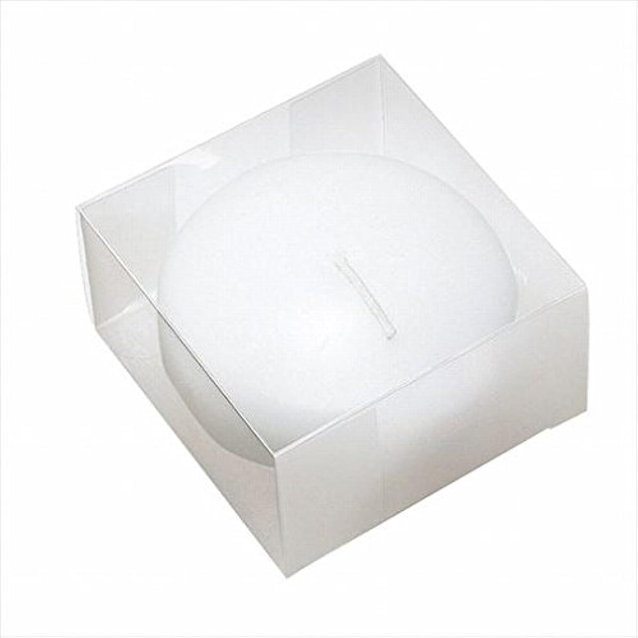 分解するソート作物カメヤマキャンドル(kameyama candle) プール80(箱入り) 「 ホワイト 」