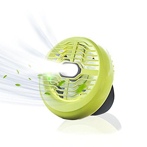LEDランタン usb充電式 ファンライト 2つ調光モード ...