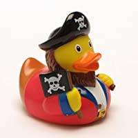 DUCKSHOP | Pirate Rubber Duck | Bathduck | L: 8,5 cm by Duckshop
