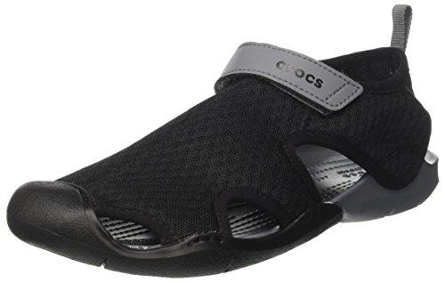 [해외][악어] 샌들 스위프트 워터 메쉬 샌들 위멘 204597/[Crocs] Sandals Swiftwater Mesh Sandals Women 204597