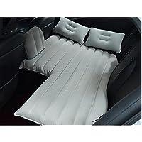 スービックカーセックスエアベッドインフレータブルマットレスグレーバックシートクッションポンプと枕の屋外旅行キャンプのための
